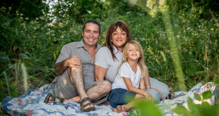 Beach Family Photography Session in Erieau Ontario