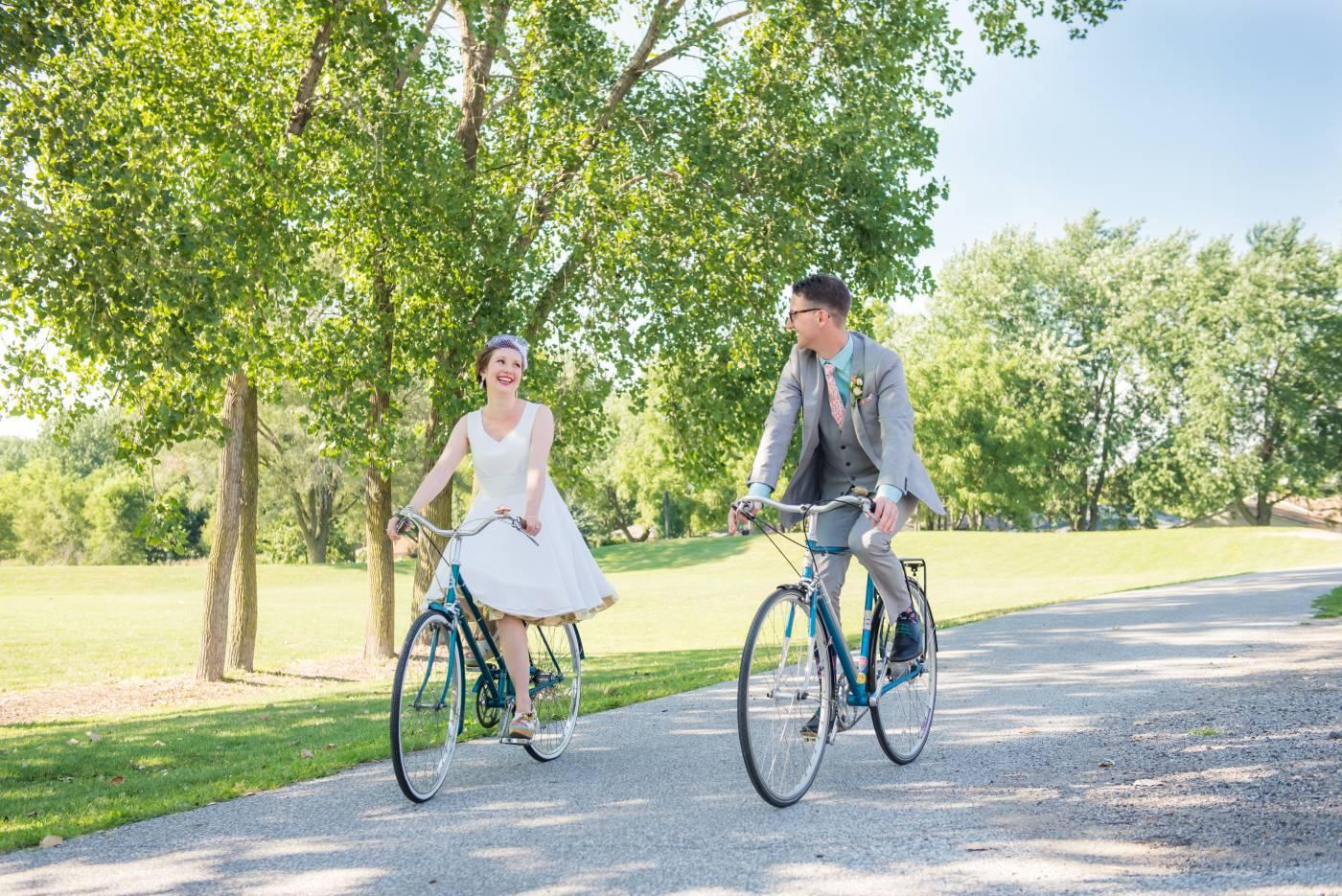 Wedding Bike Ride Malden Park