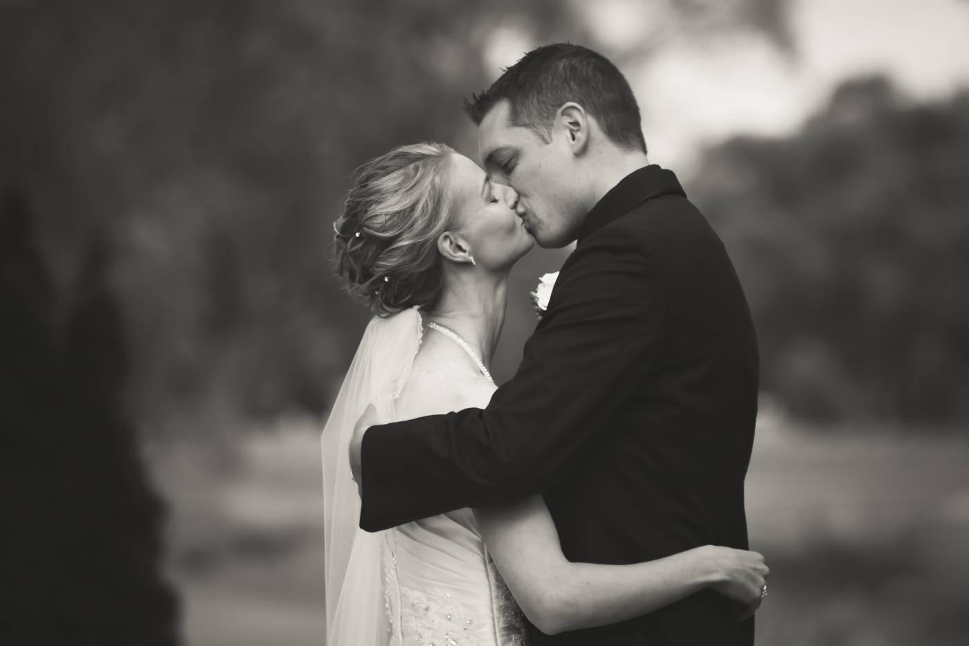 First Kiss Tanya Sinnett Photography