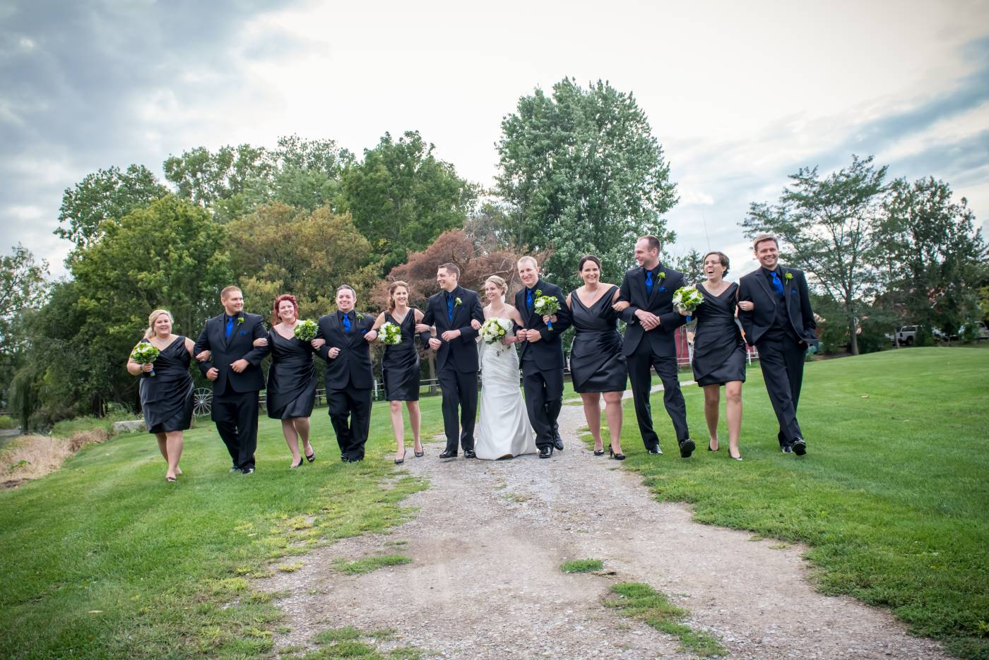 Wedding Party at links of kent
