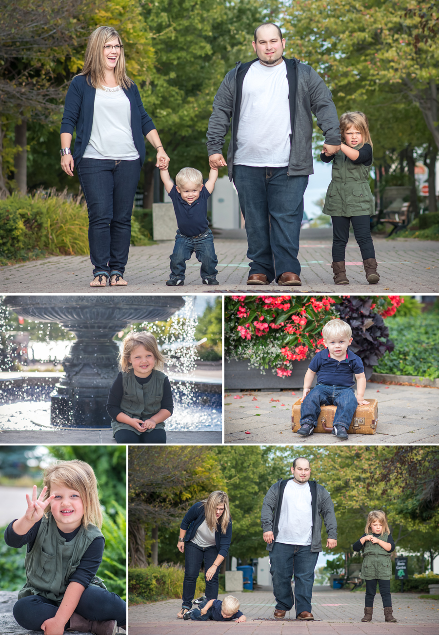 King's Navy Yard Park Family Pictures