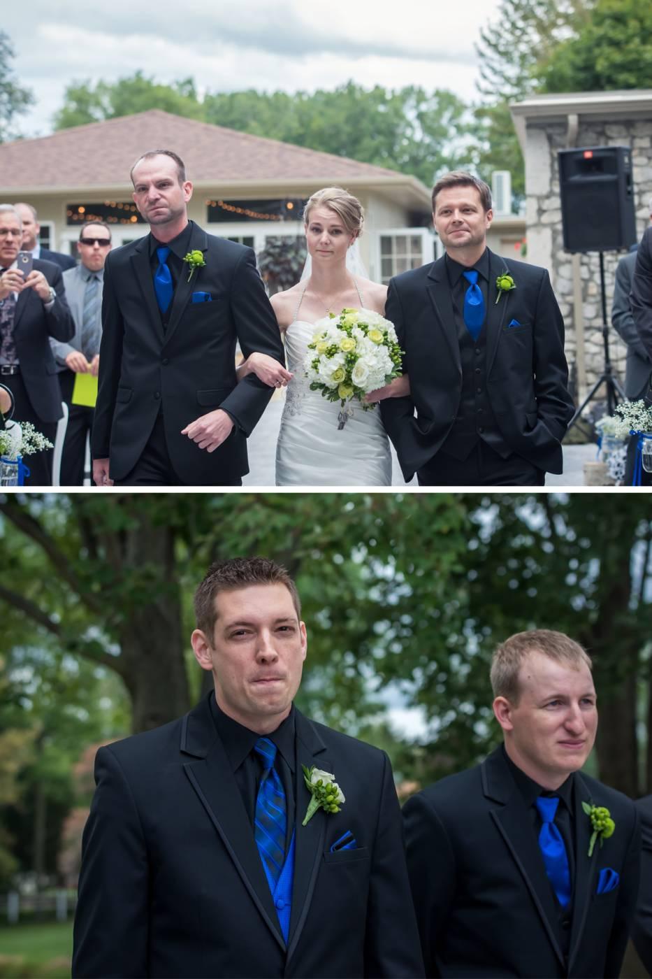 Links of Kent Wedding Ceremony