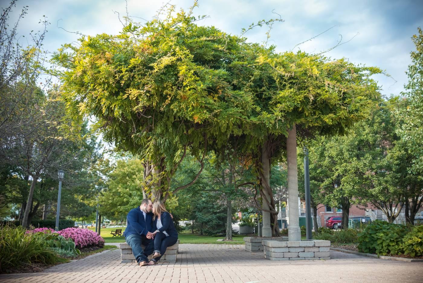 amherstburg Navy park engagment pictures Tanya Sinnett