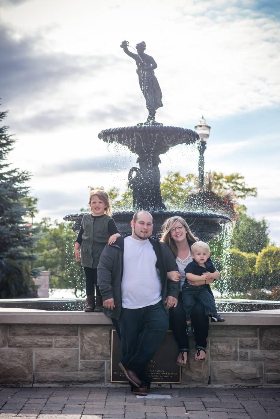King's Navy Yard Park Family Photography