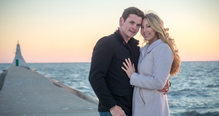 Galen & Marianna Engagement Photos | Erieau, Ontario | Tanya Sinnett Photography