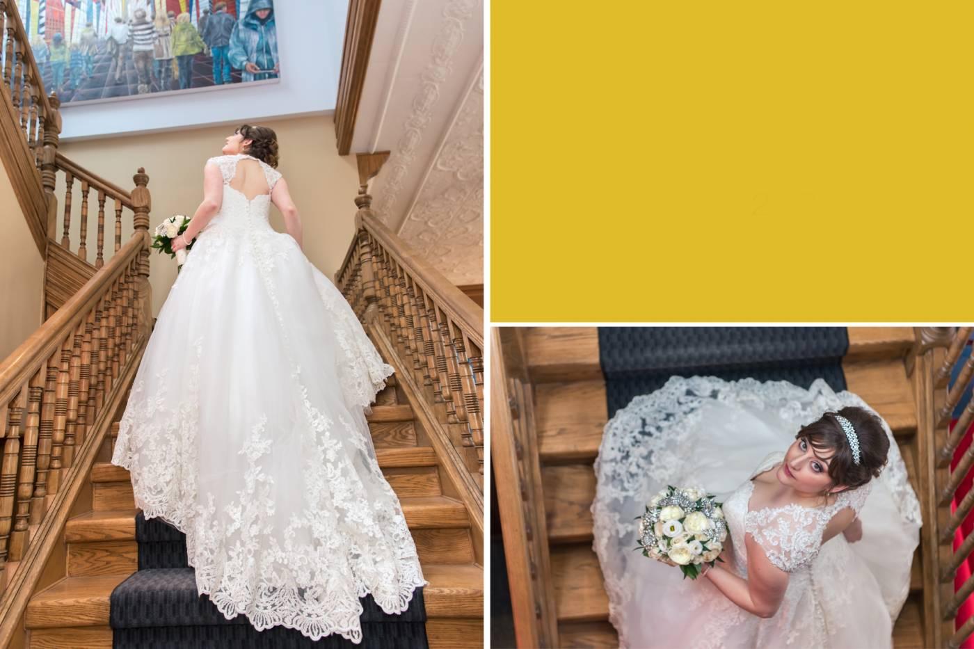 Retro Suites Chatham Bridal Pictures