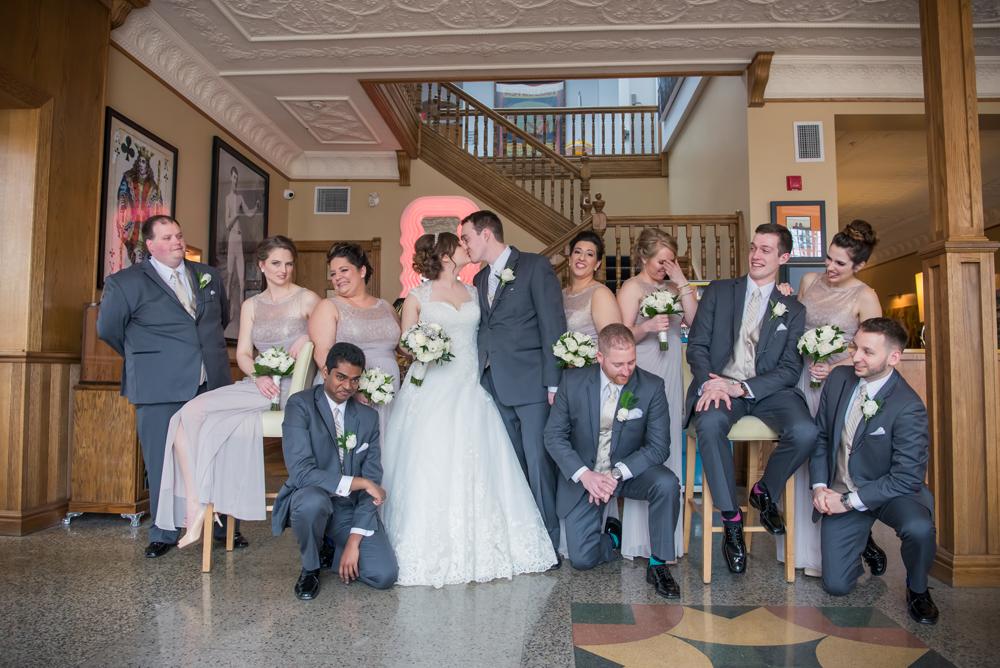 Retro Suites Wedding Party