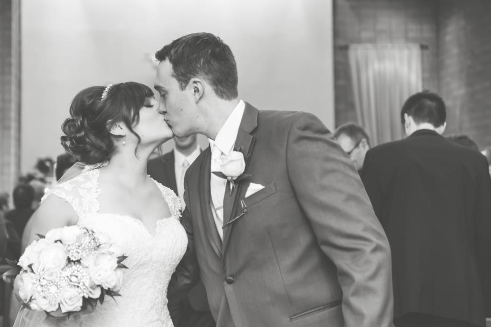 St Ursula Church Chatham Ontario wedding