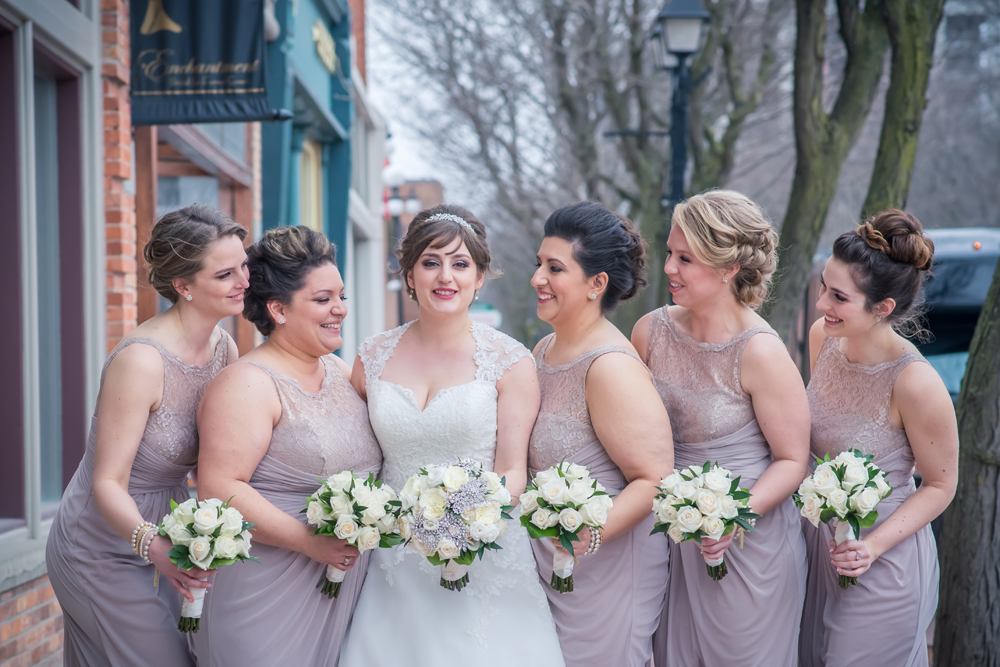 Tanya Sinnett Wedding party Pictures