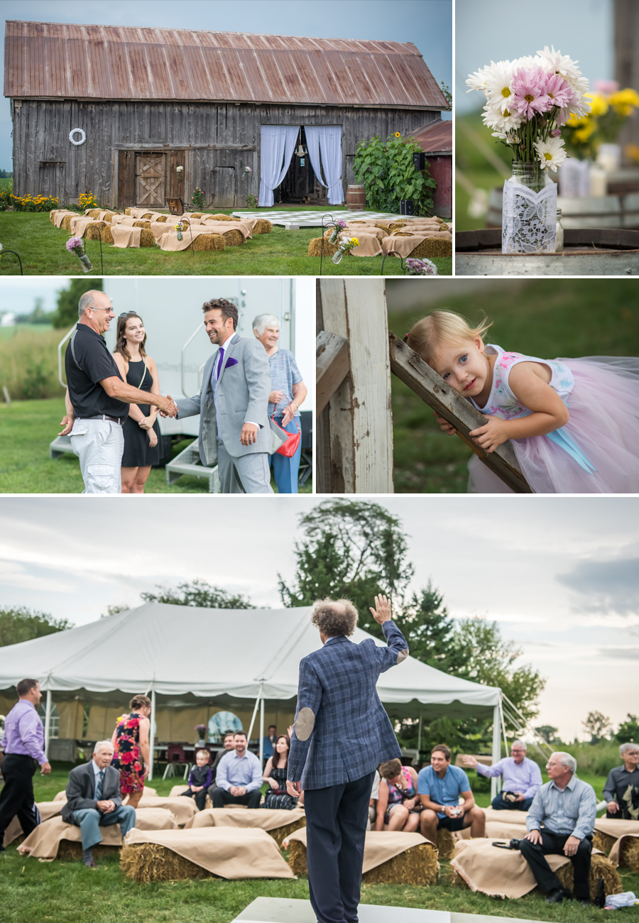 Chatham Kent Outdoor Wedding