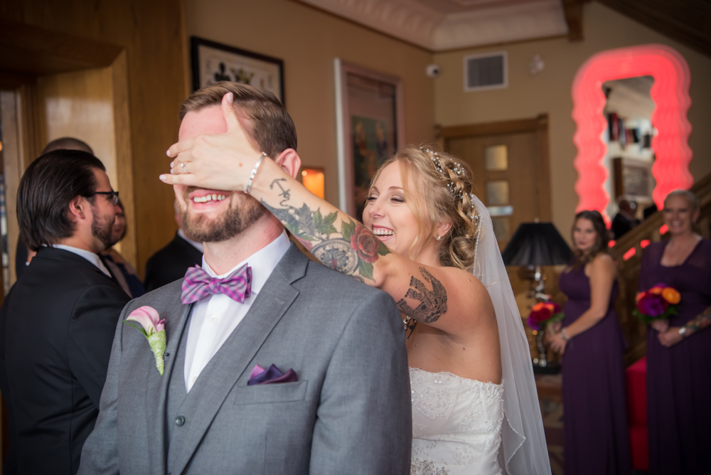 First Look Chatham Wedding Photography