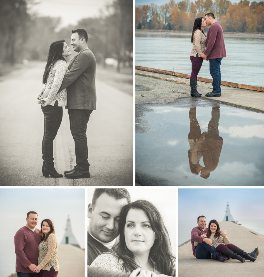Erieau Engagement Photography