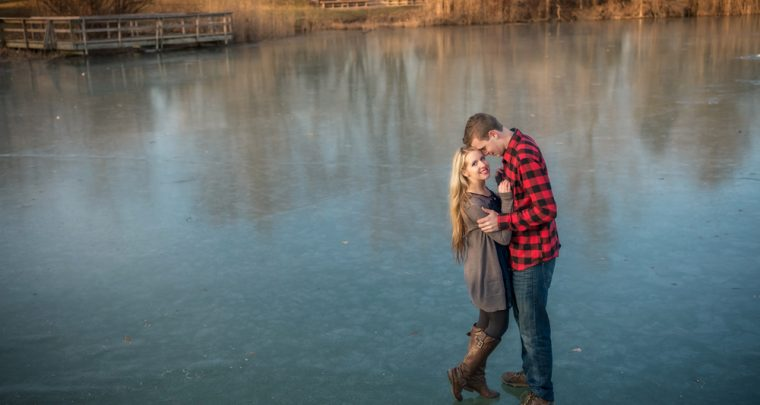 Chris & Katie Chatham-Kent Engagement Session | Tanya Sinnett Photography