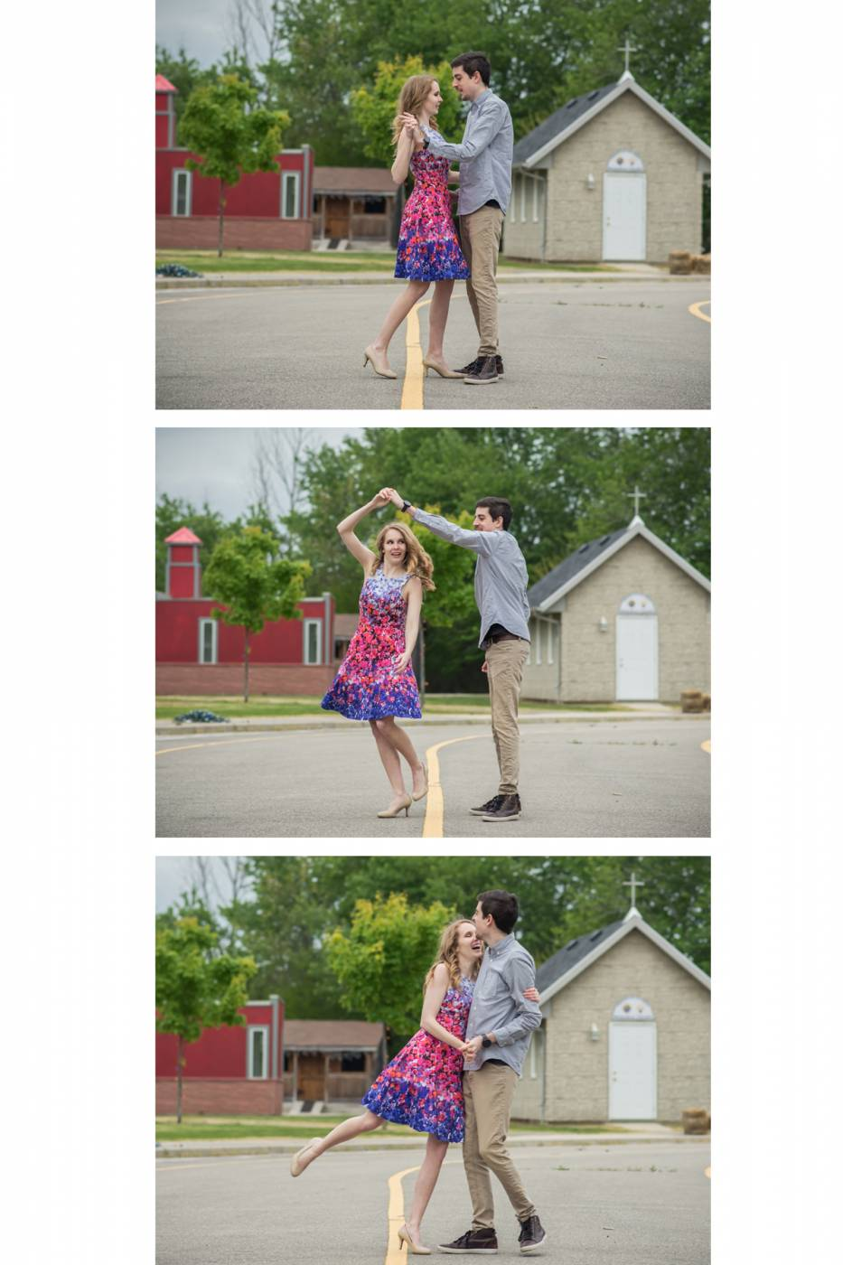 Fun Engagement Photographer