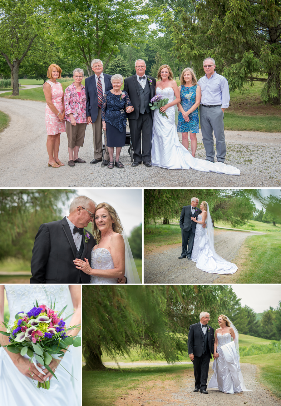 Deer Run Golf Course Wedding Pictures