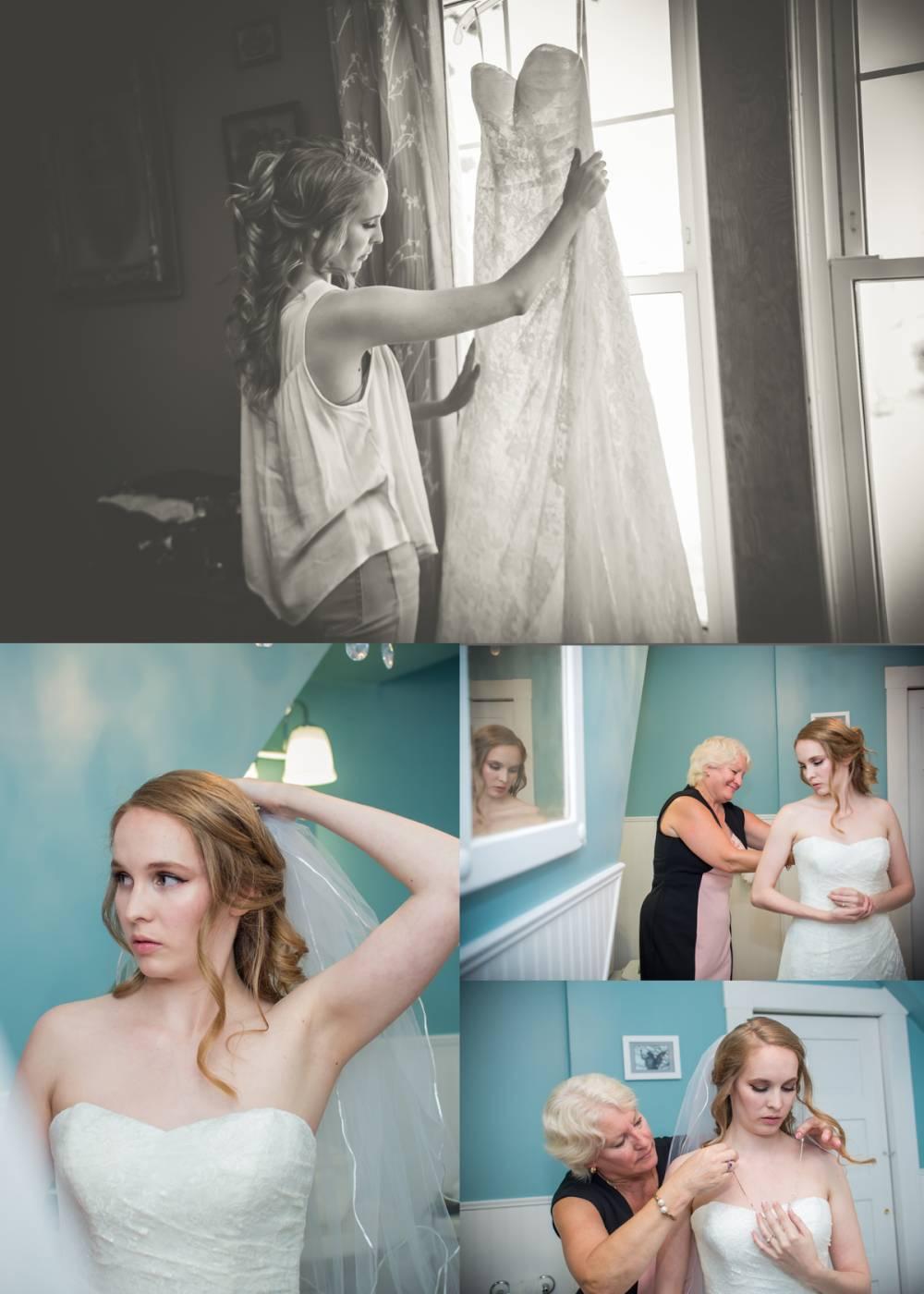 Wedding Morning Merlin Ontario