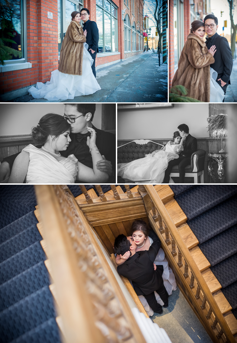 Retro Suites Hotel Wedding Photographer