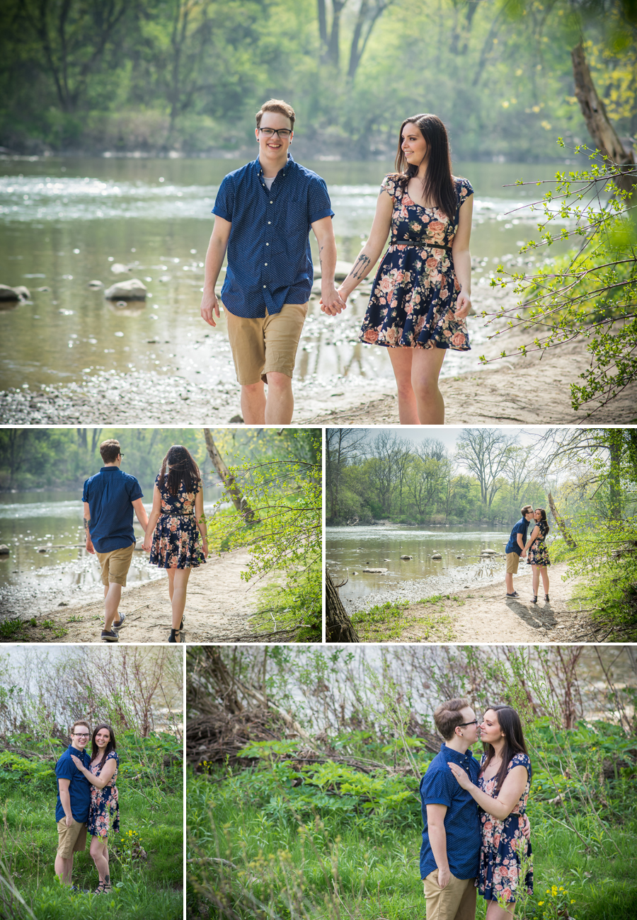 Gibbons Park London Engagement Photos