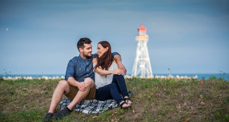 Ryan & Trina Erieau Engagement Session | Tanya Sinnett Chatham-Kent Photographer