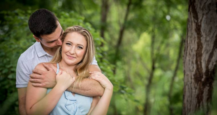 Tristan & Samantha Downtown Chatham Engagement Session | Tanya Sinnett Chatham-Kent Wedding Photographer