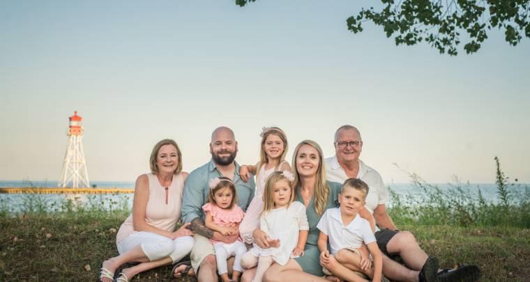 Erieau Family Photography Session | Tanya Sinnett Chatham-Kent Family Photographer