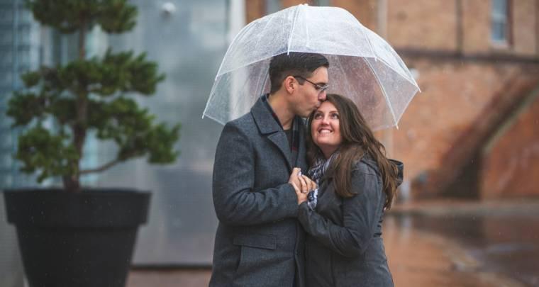 Darren & Jodi Downtown Chatham Engagement Session | Tanya Sinnett Chatham-Kent Wedding Photographer