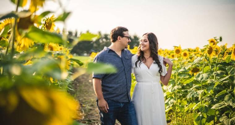 Andrew & Morgan Summer Engagement Session | Tanya Sinnett Chatham-Kent Wedding Photographer